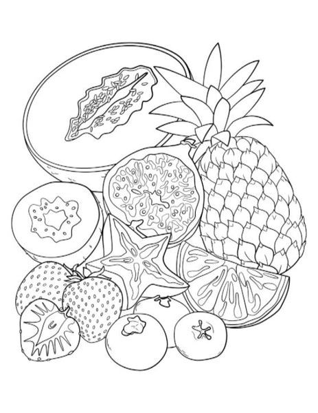 coloring pages for kids only | Adult High School Middle School MyPlate Coloring Book ...