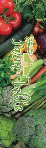 "Bring the Farm to The Table Bookmark pack of 50 2""X7"" - Nutrition Education Store"