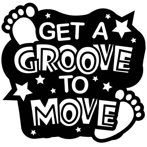 """Groove to Move Temporary Tattoos 2"""" - Pack of 100 - Nutrition Education Store"""