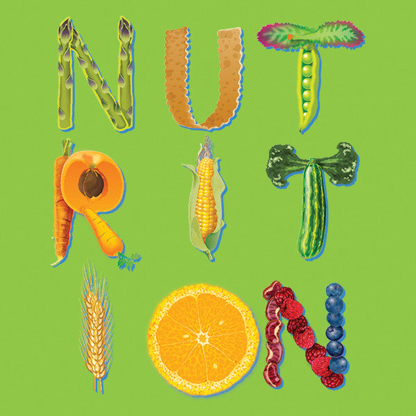 """Nutrition Month Stickers 2"""" X 2"""" - Pack of 100 - Nutrition Education Store"""