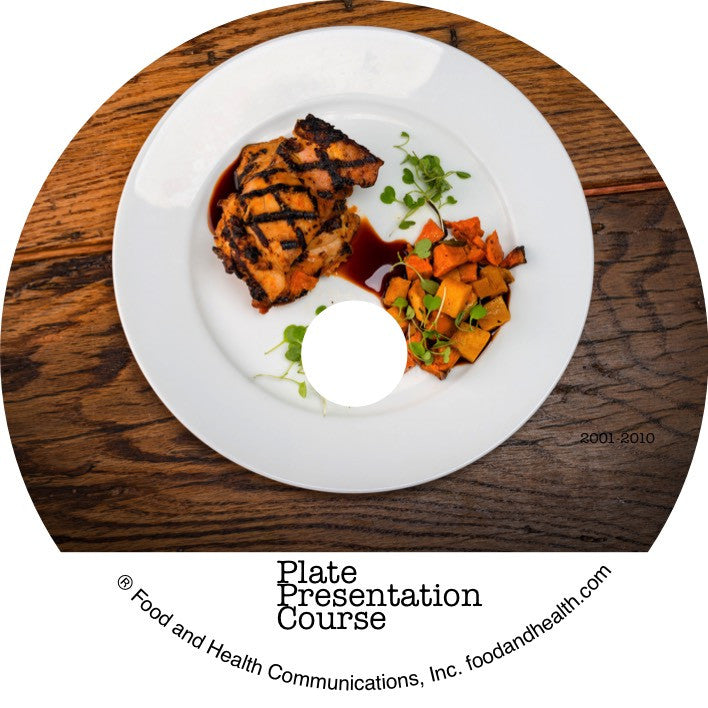 Guide to Spectacular and Professional Plate Presentation Course on DVD - Nutrition Education Store