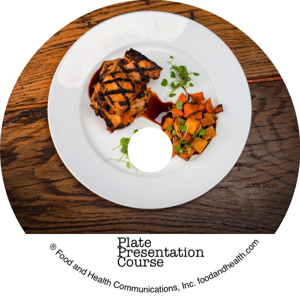 Guide to Spectacular and Professional Plate Presentation Course on DVD