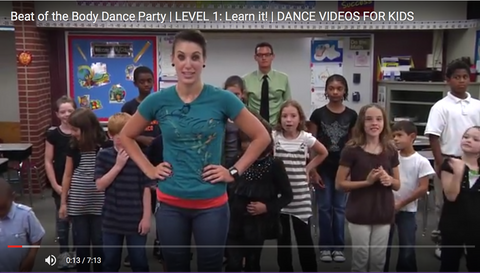 Nutrition and Dance Exercise DVD - Nutrition Education DVD