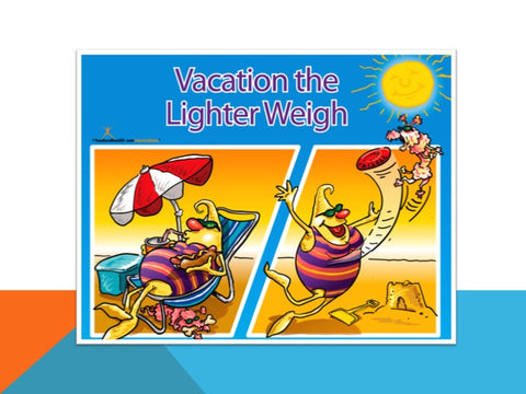 Vacation Light PowerPoint and Handout Lesson - DOWNLOAD - Nutrition Education Store