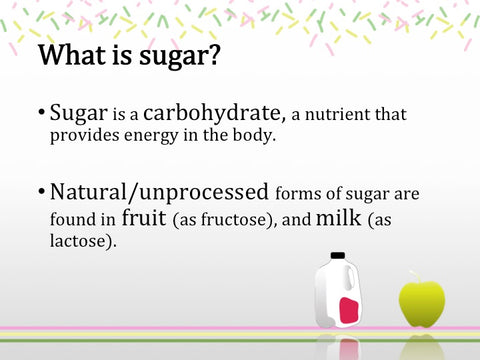 Sugar Math PowerPoint Show - DOWNLOAD NOW - PPT with speaker's notes and handouts