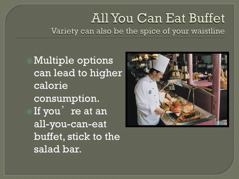Dining Out: Do it the Smart Weigh PowerPoint and Handout Lesson