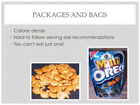 Snacking Smart: Think Out With the Bag PowerPoint and Handout Lesson - DOWNLOAD - Nutrition Education Store
