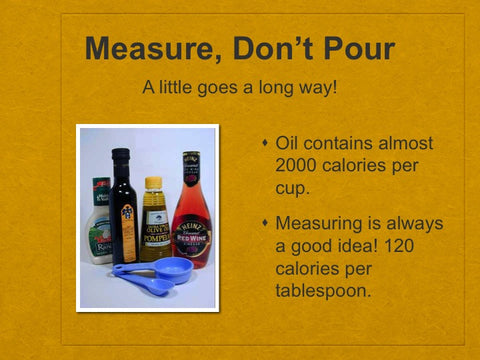 Cook for a Better Weigh PowerPoint and Handout Lesson