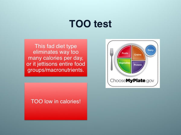 Don T Waste Your Time With Fad Diets Powerpoint And