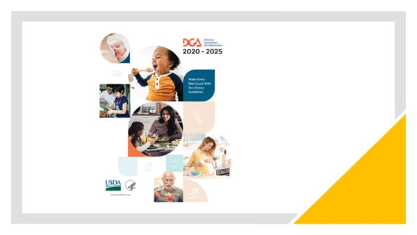2020-2025 Dietary Guidelines PowerPoint Show and Handout Set - DOWNLOAD