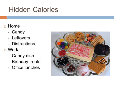 Stress Eating and Food Cravings PowerPoint and Handout Lesson