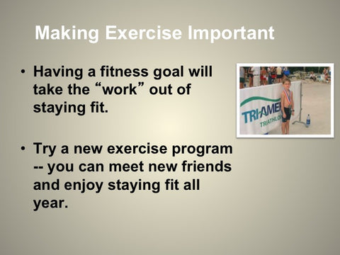 Exercise to Lose and Control Weight PowerPoint and Handout Lesson - DOWNLOAD - Nutrition Education Store