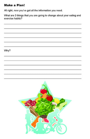 High School and Adult Nutrition Workbook - Pack of 10