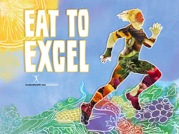 "Eat to Excel With Phytoman Banner 48"" X 36"" Vinyl"