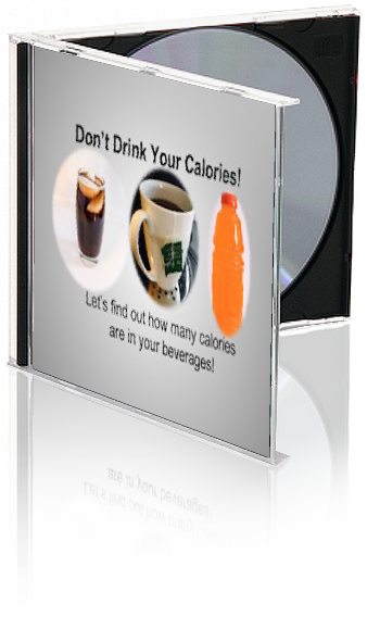 Don't Drink Your Calories PowerPoint and Handout Lesson - DOWNLOAD