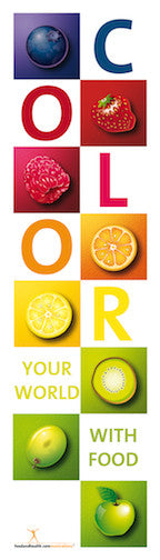 "Colors of Food Bookmarks pack of 50 2""X7"""