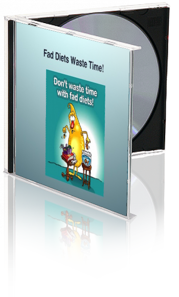 Don't Waste Your Time With Fad Diets PowerPoint and Handout Lesson - DOWNLOAD - Nutrition Education Store
