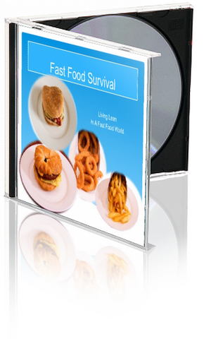 Eating on the Go: Fast Food Alternatives PowerPoint and Handout Lesson - Nutrition Education Store