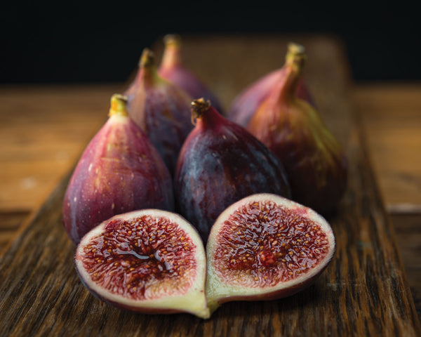 "Art Print 20"" x 16"" Food Photograph ""Figs Still Life"" on Canvas Foam Board Ready to Hang"