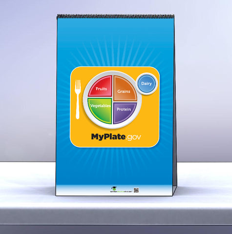 MyPlate Flip Chart - Table Top Flipchart - Nutrition Education Store