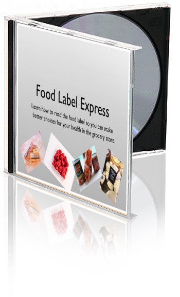 Food Label PowerPoint Express With New Food Label - DOWNLOAD - Nutrition Education Store