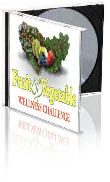 Fruit and Vegetable Challenge Tool Kit With PowerPoint Shows