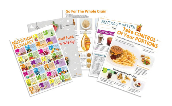 Quality Nutrition Poster Value Set - Nutrition Education Store