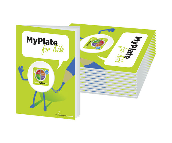 MyPlate Activity Workbook Pack of 10