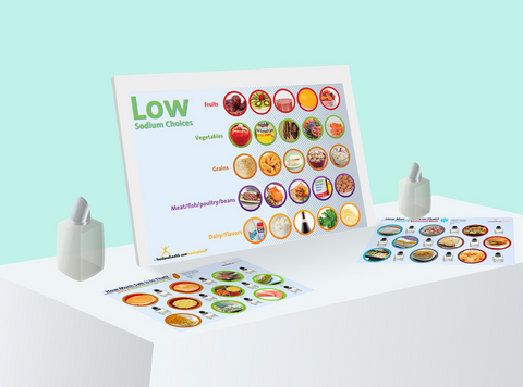 Salt Display Kit - Nutrition Education Store