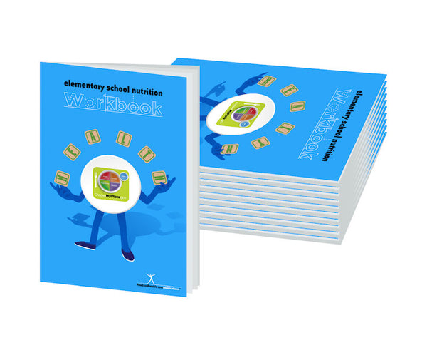 Elementary School Nutrition Workbook Pack of 10 - Nutrition Education Store