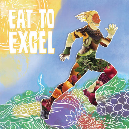 "Eat to Excel Stickers 2"" - Pack of 100"