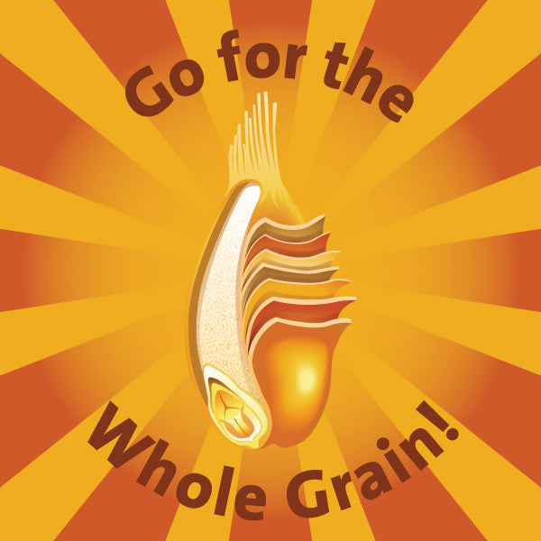 "Whole Grain Stickers 2"" - Pack of 100 - Nutrition Education Store"