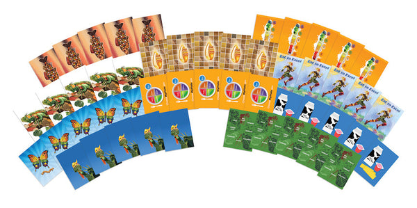 Trading Cards - Prizes and Incentives for Nutrition - Set of 50 With 10 Different Designs