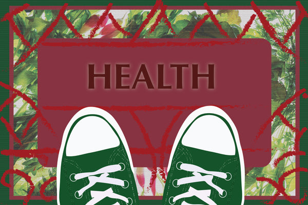 Health Welcome Mat - Floor Decal - Nutrition Education Store