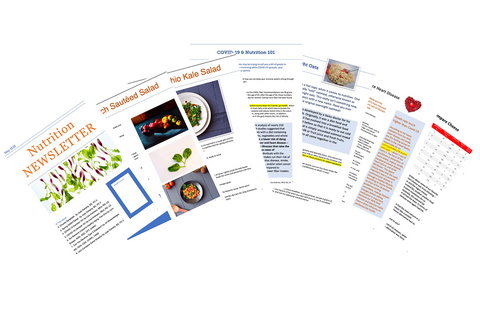 White Label Newsletters - Nutrition Education Store