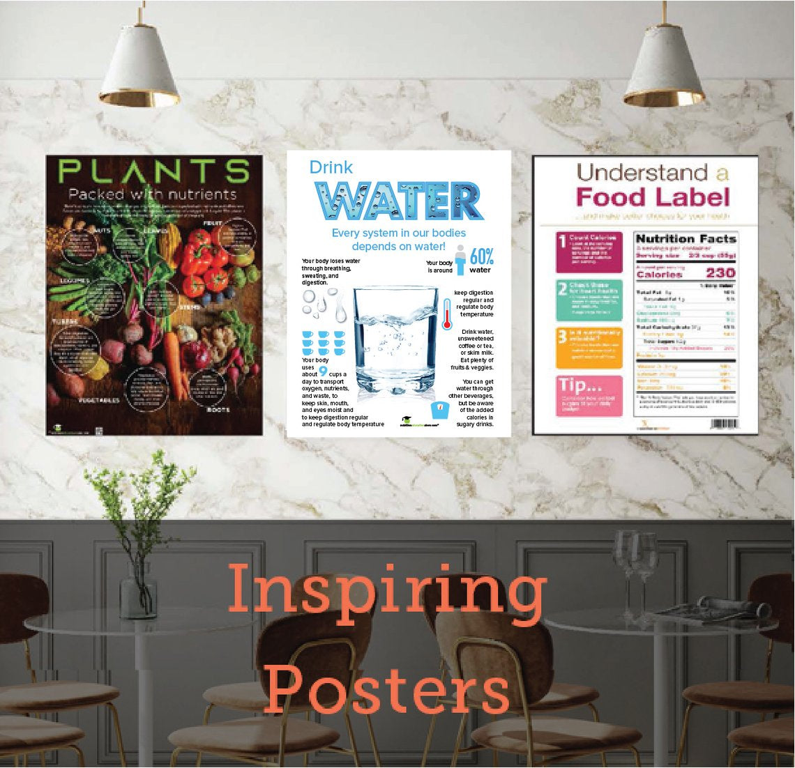 New Posters from Nutrition Education Store