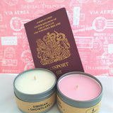 Rosy Cheeks Travel Tin Candle