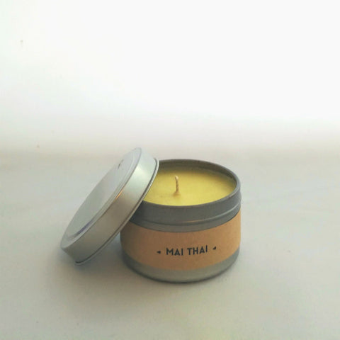 Mai Thai Travel Tin Candle
