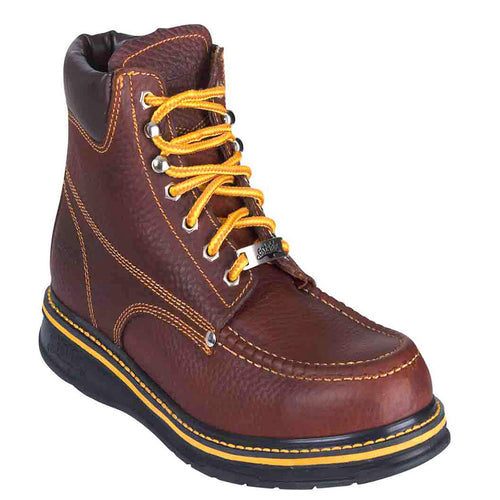 Establo Men's Mocc Toe Work Boots - 903