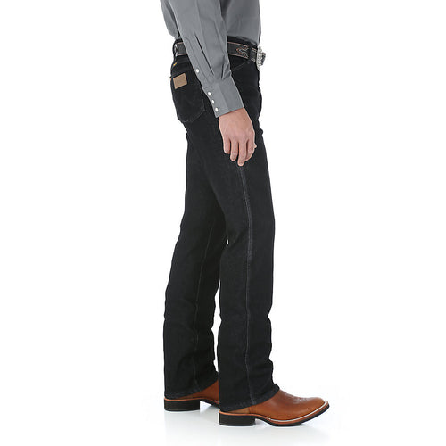 Wrangler Cowboy Cut Stretch Slim Fit Black Jean - VaqueroBoots.com - 2
