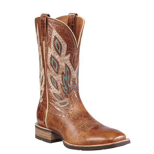 Ariat Men's Nighthawk Square Toe Cowboy Boots Beasty Brown