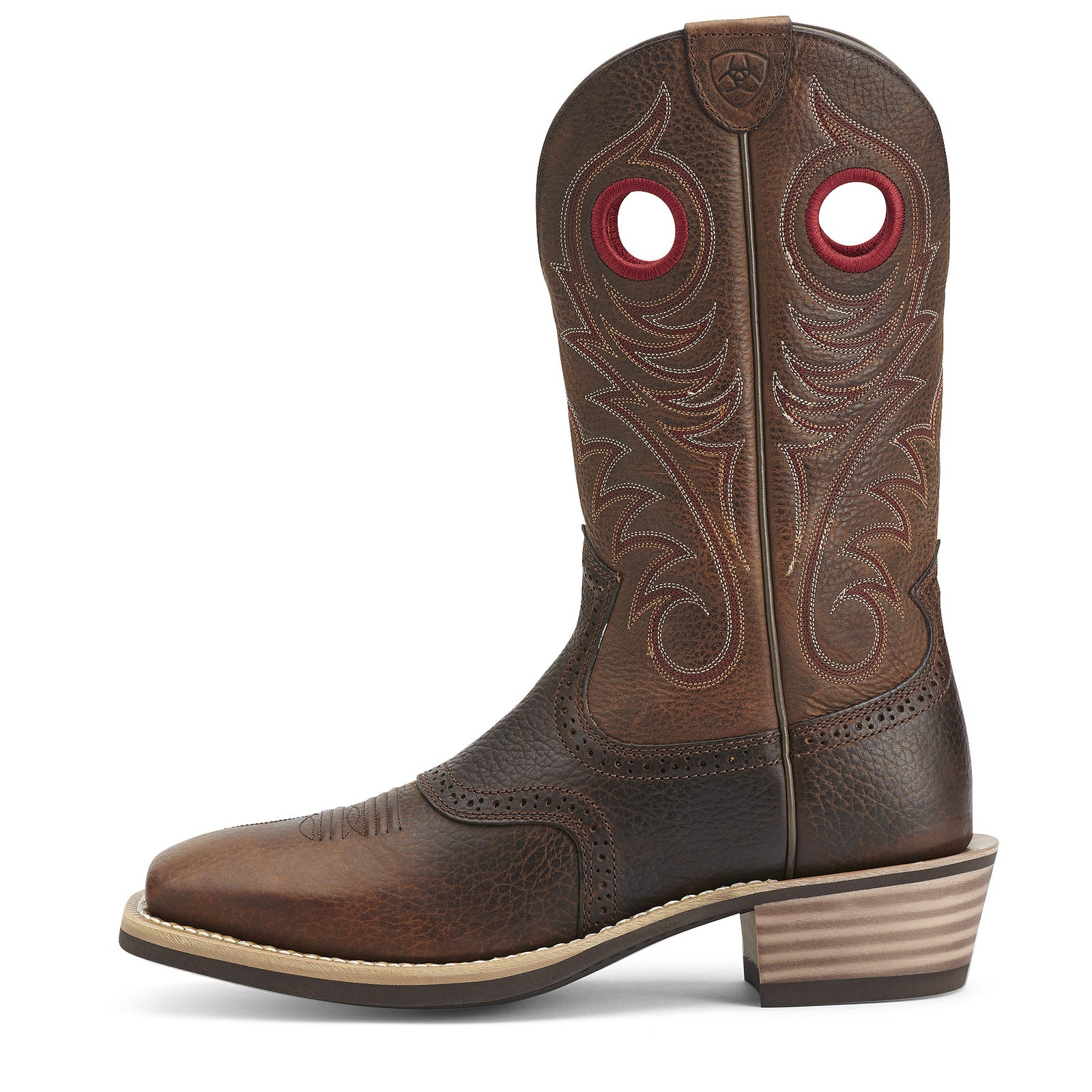 bb8895b66d1 Heritage Roughstock Wide Square Toe Boots