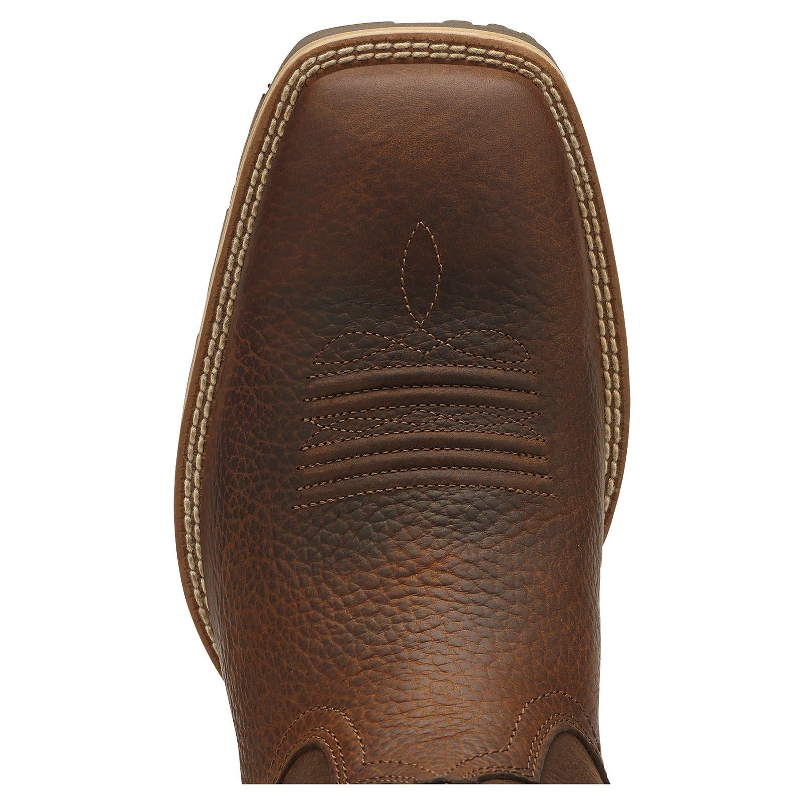 Ariat Men's Hybrid Rancher Square Toe Boot Brown Oiled Rowdy - VaqueroBoots.com - 4