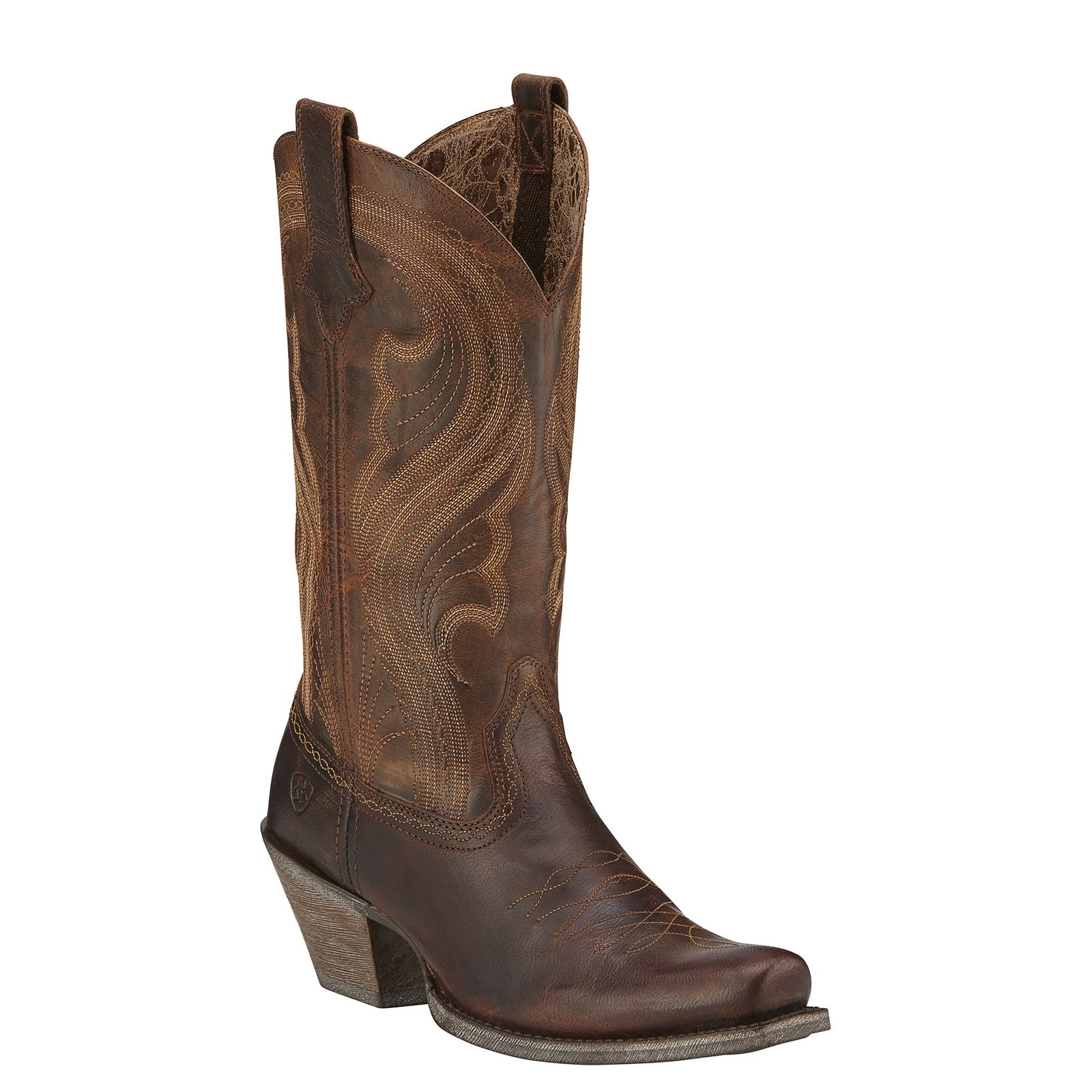 Ariat Women's Lively Sassy Brown Western Fashion Boots - VaqueroBoots.com - 1