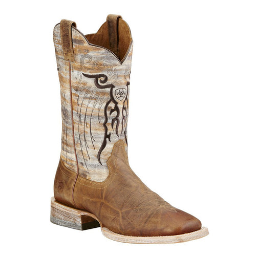 Ariat Men's Mesteño Square Toe Cowboy Boots Dusty Devil Tan