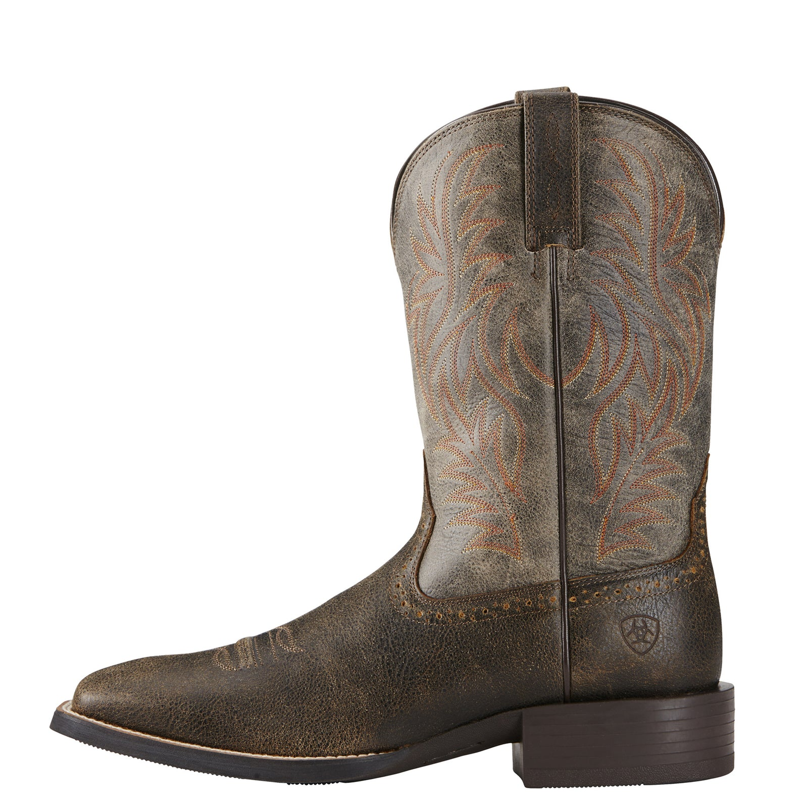 Ariat Brooklyn Brown Sport Western Wide Square Toe
