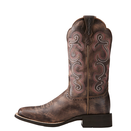 Ariat Women's Quickdraw Tack Room Chocolate