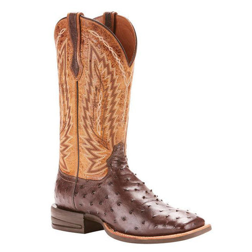 Ariat Relentless Platinum Western Boot Ostrich Boot