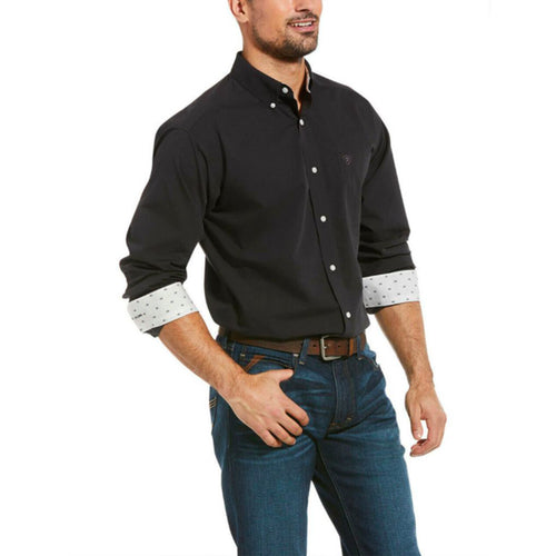 Men's Nine Iron Wrinkle Free Long Sleeve Button Shirt
