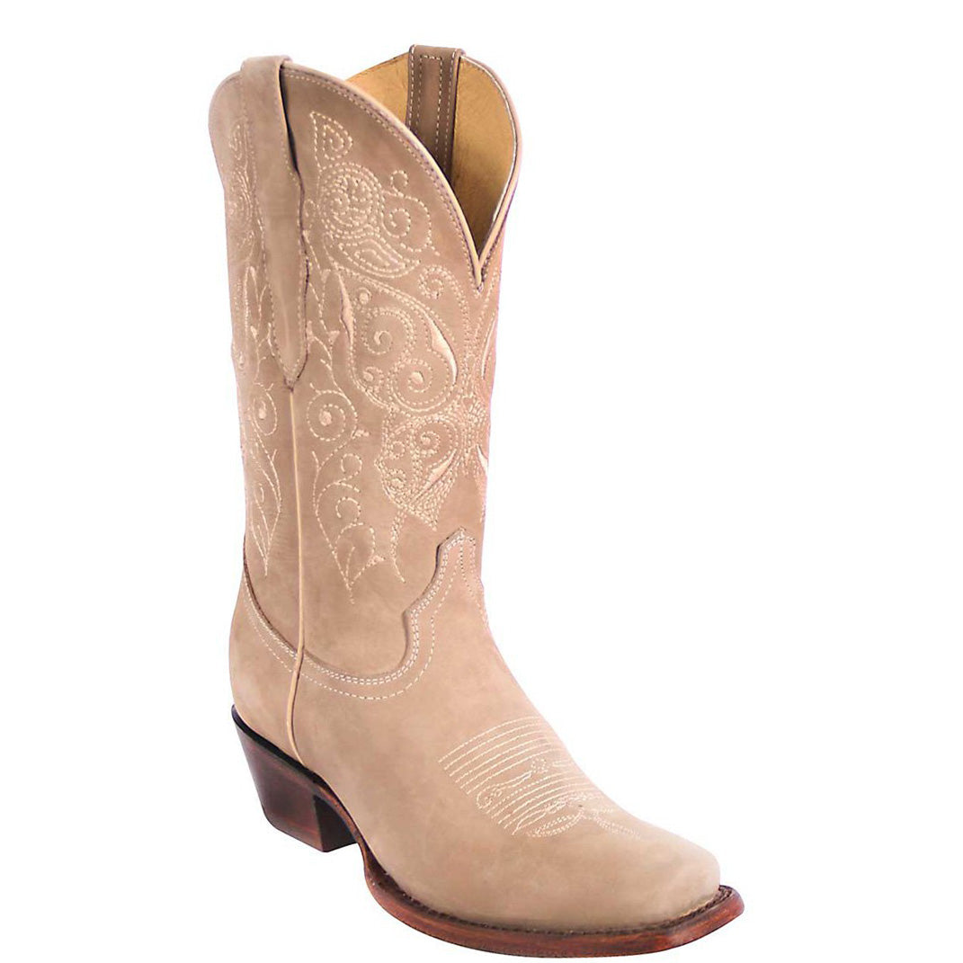 El General Arena Square Toe Cowgirl Boots
